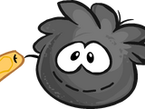 Black Puffle Stuffie