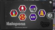 Halopona Stampbook