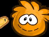 Orange Puffle Stuffie