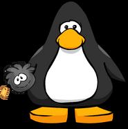 Black Puffle Stuffie PC