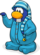 Ice Stocking Cap Penguin