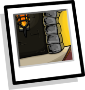Castle Hallway Background Icon