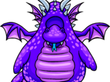 Purple Dragon Costume