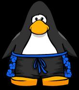 Blue Hawaiian Shorts PC