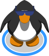 Blue Tinted Sunglasses IG