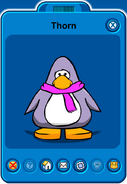 Thorn Player Card - Early November 2018 - Club Penguin Rewritten (3)
