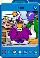 Thorn Player Card - Early February 2019 - Club Penguin Rewritten (2)