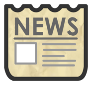 Adventure Party Newspaper Icon