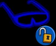 Blue Sunglasses Unlockable