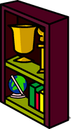Burgundy Bookshelf sprite 008