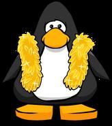 Gold Feather Boa PC