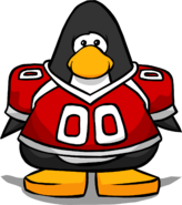 Red Football Jersey PC