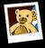 Teddy Bear Background Icon