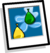 Water Balloon Background Icon