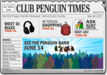 Club Penguin Times Issue 13