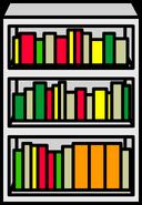 White Bookcase sprite 002