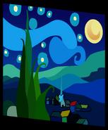 Starry Night Painting sprite 003