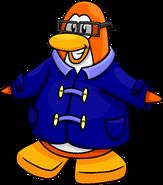 Blue Duffle Coat Penguin Style
