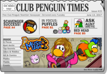 Club Penguin Times Issue 15