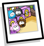 Pet Shop Puffles Background Icon