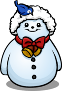 Santa Hat Snowman sprite 001