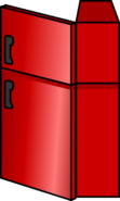 Shiny Red Fridge sprite 006