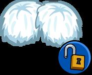 White Pompoms Unlockable