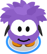 Purple Puffle Costume IG