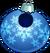 Blue Snowflake Bauble