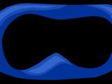 Blue Superhero Mask