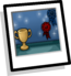 First Prize Puffle Background Icon