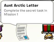 Aunt Arctic's Letter SB