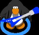 Blue Electric Guitar IG