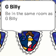 G Billy Stamp Book