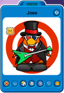 Joee Player Card - Late May 2019 - Club Penguin Rewritten