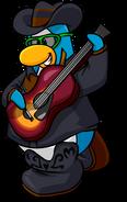 Music Jam Postcard Penguin 1