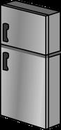 Stainless Steel Fridge sprite 003