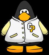 White Letterman Jacket PC