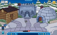 Hagrid Igloo - Early December 2018 - Club Penguin Rewritten