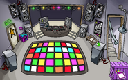 Puffle Party 2020 construction Night Club