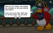 Entering Shipwreck Island Message 2