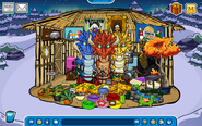 Lily8763cp Igloo - Mid December 2019 - Club Penguin Rewritten