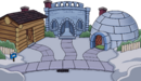 Trick-or-treat Igloo