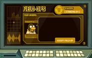 Field-Ops Main Screen