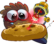 Brown Puffle Laser