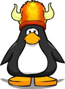 Fuzzy Viking Hat PC