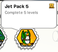 Jet pack 5 stamp book