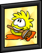 Yellow Puffle Picture sprite 001