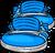 Blue High Tops