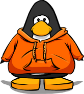 Orange Hoodie PC